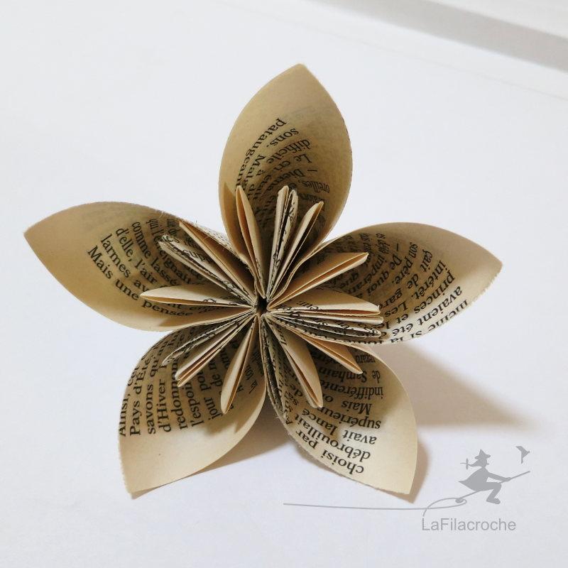 Fleur De Papier Facile La Filacroche