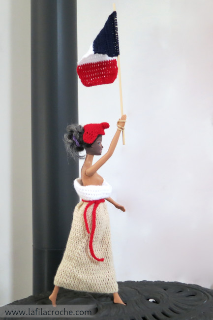 Barbie Marianne au crochet