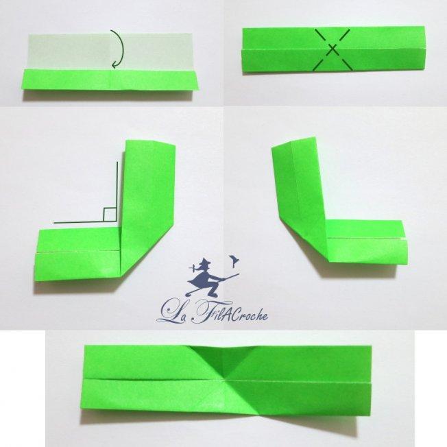 tuto du noeud papillon en origami la filacroche. Black Bedroom Furniture Sets. Home Design Ideas