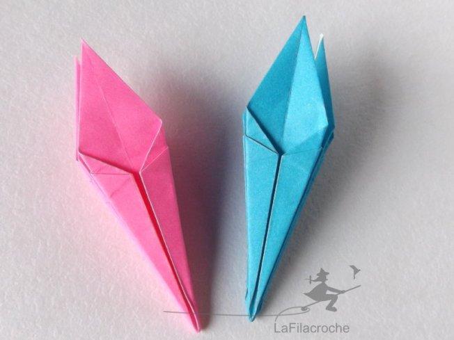 Lys En Origami double lys en origami - la filacroche