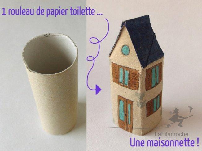 tuto avec rouleau de papier toilette gallery of que faire. Black Bedroom Furniture Sets. Home Design Ideas