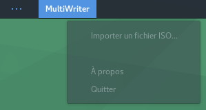 Capture écran gnome multiwriter 6