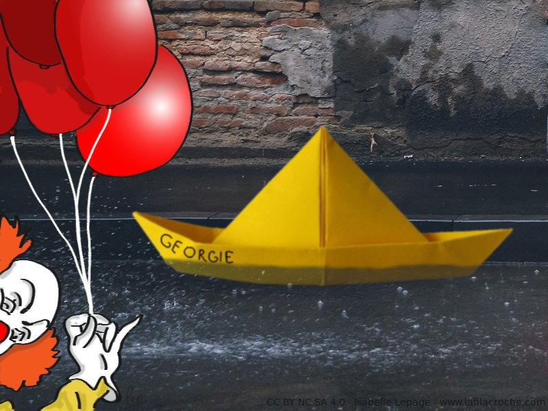 La Filacroche Tuto Pliage Le Bateau De Georgie